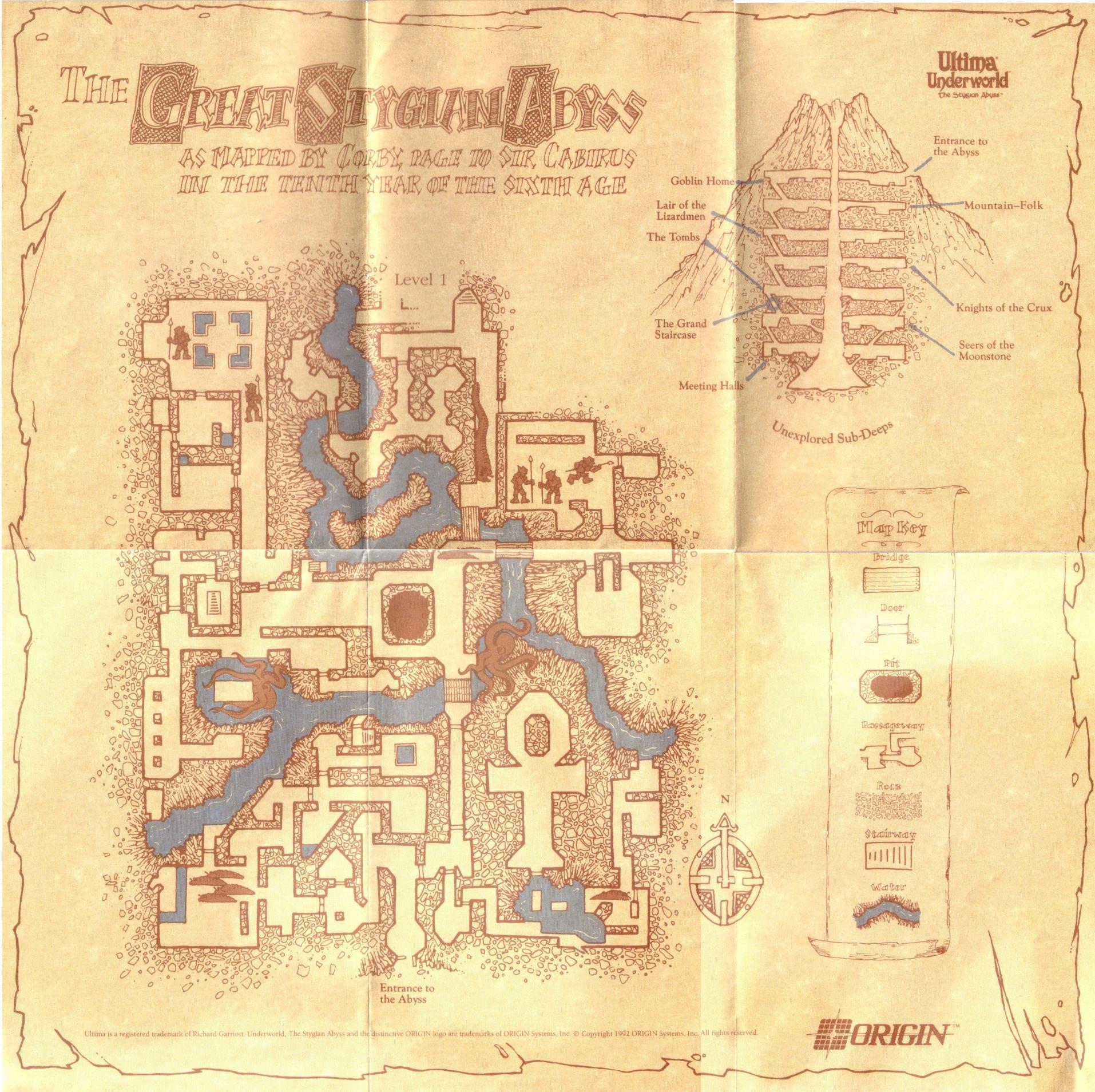 Dino's ultima page ultima underworld 1: the stygian abyss.